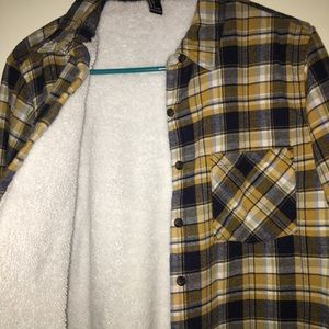 Soft cozy button up jacket
